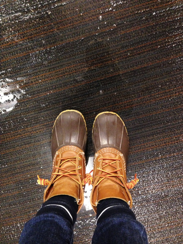 Photo courtesy of Ashlan Jackson Rainboots were required for some Judson 400 residents whose rooms were flooded after winter break pipe issues in Lakeside and North Village housing