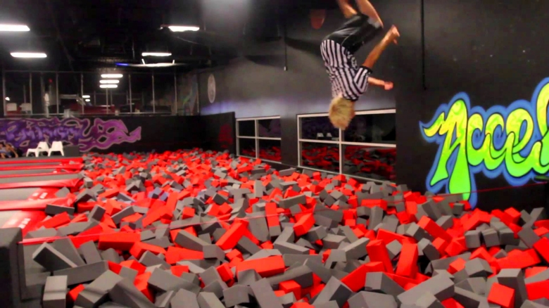Gravitopia is a new trampoline park that provides an exciting way to exercise and get fit. Photo courtesy of Damon Hill