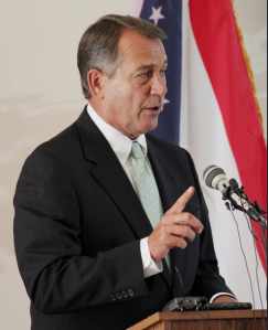 Speaker of the House John Boehner struggles to balance the warring factions within the Republican Party. Photo courtesy of Creative Commons