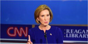 Carly Fiorina proved herself to be a worthy opponent during the Sept. 16 GOP debate.