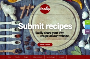 The new recipe sharing website foodup.us enhances the campus dining experience by allowing students to create and share recipes that can easily be made using simple ingredients found in the dining hall. Photo courtesy of foodup.us